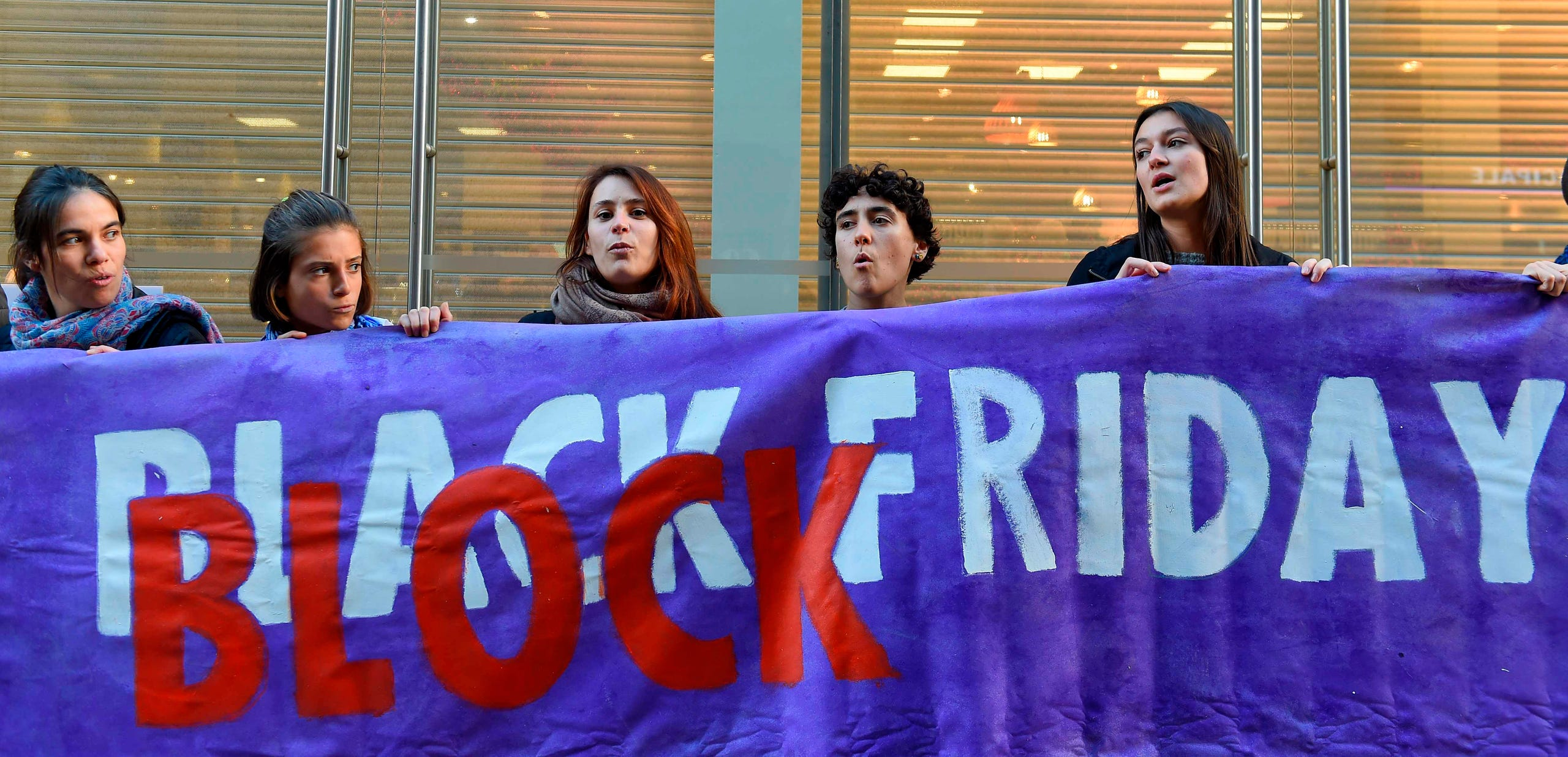 Black Friday Protests Target Consumerism And Climate Change