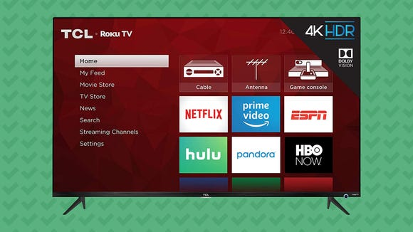 TCL 5-Series TV with Roku (55S525)