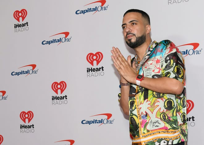 Rapper French Montana attends the 2019 iHeartRadio Music Festival and Daytime Stage at T-Mobile Arena on September 20, 2019 in Las Vegas, Nevada.