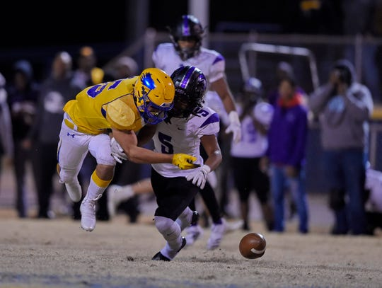 Wren hosted Ridge View in a Class AAAA football Upper State playoff game Friday, Nov. 29, 2019.