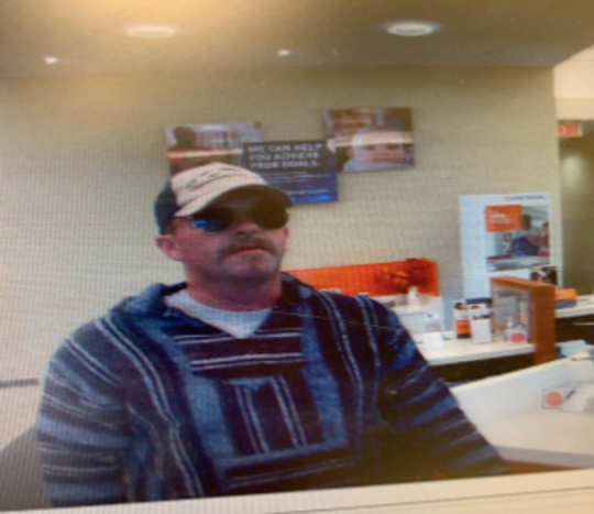 Melbourne police say this man robbed a PNC Bank location on Wickham Road.