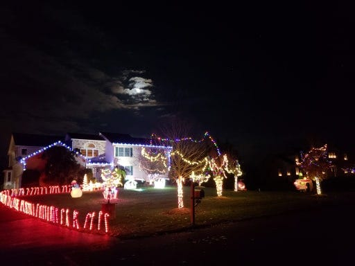 Christmas Lights Near Me 2020 Barrington Nj Christmas lights 2019: Find best NJ home displays using Google map