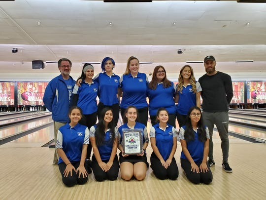 The Carteret High School girls bowling team won the 2019 Marisa Tufaro Classic on Saturday.