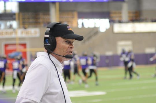UNI coach Mark Farley and the Panthers got all they could handle from San Diego in the opening round of the FCS playoffs.