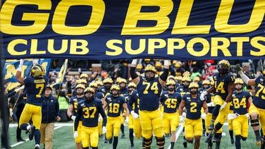 University Of Michigan Wolverines Football Basketball