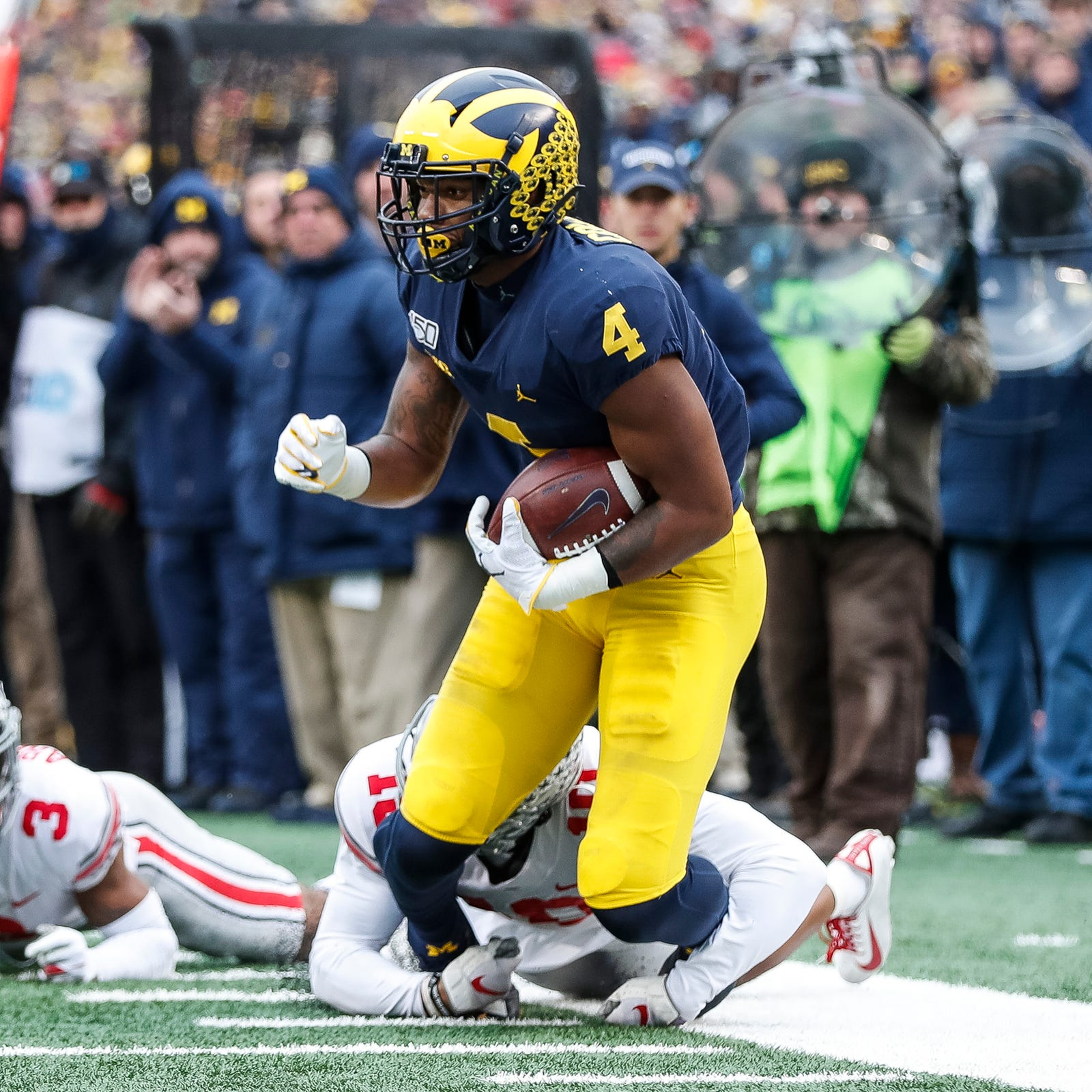 Michigan Football S Nico Collins Will Make Nfl Decision After