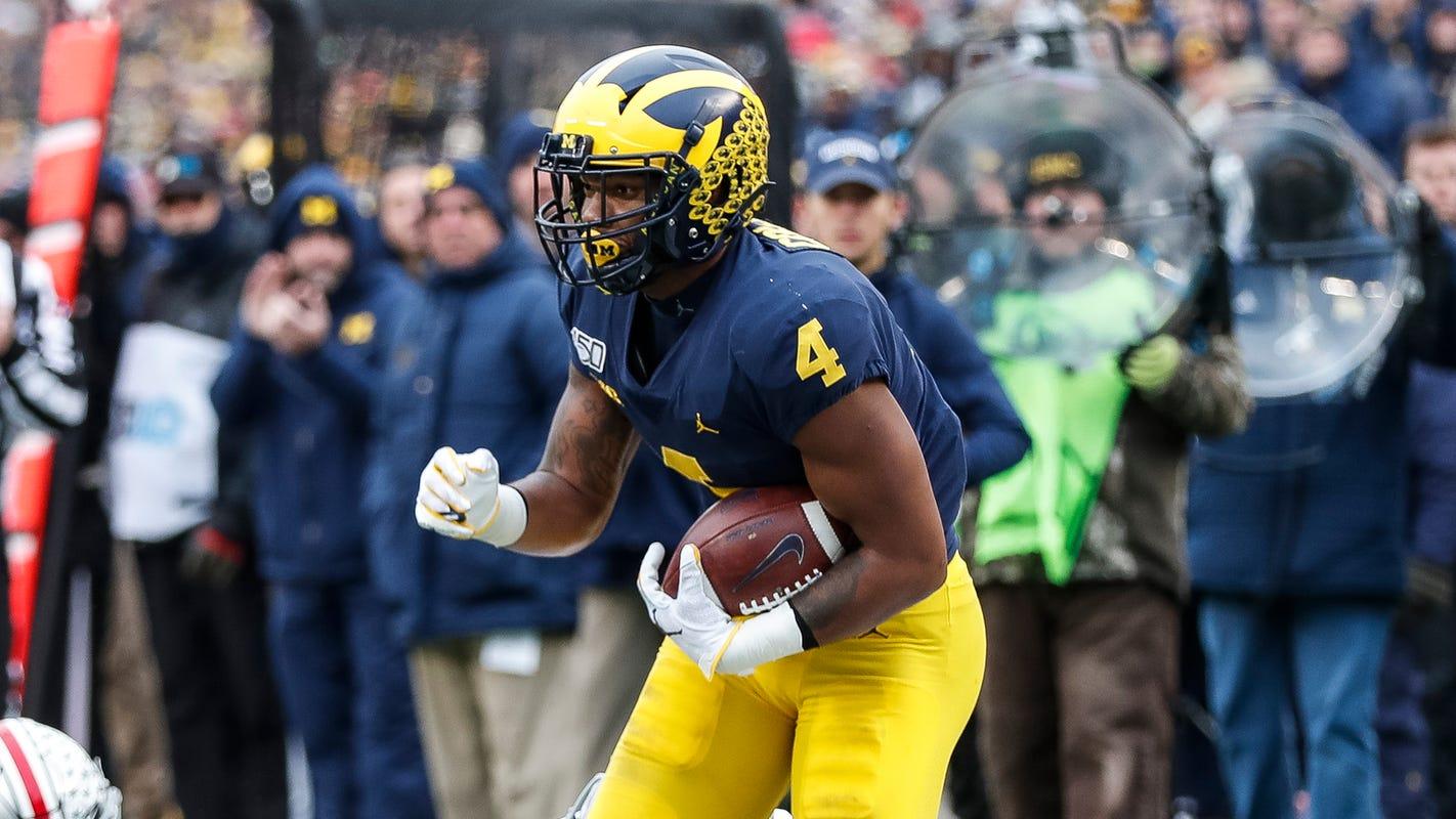 Michigan football's Nico Collins to return for senior season