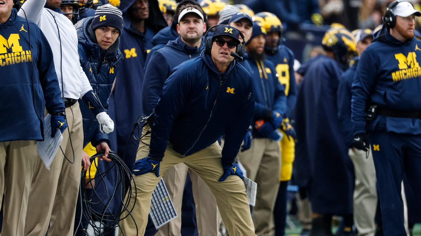 Michigan football's Jim Harbaugh has embraced change before. He must now do it again