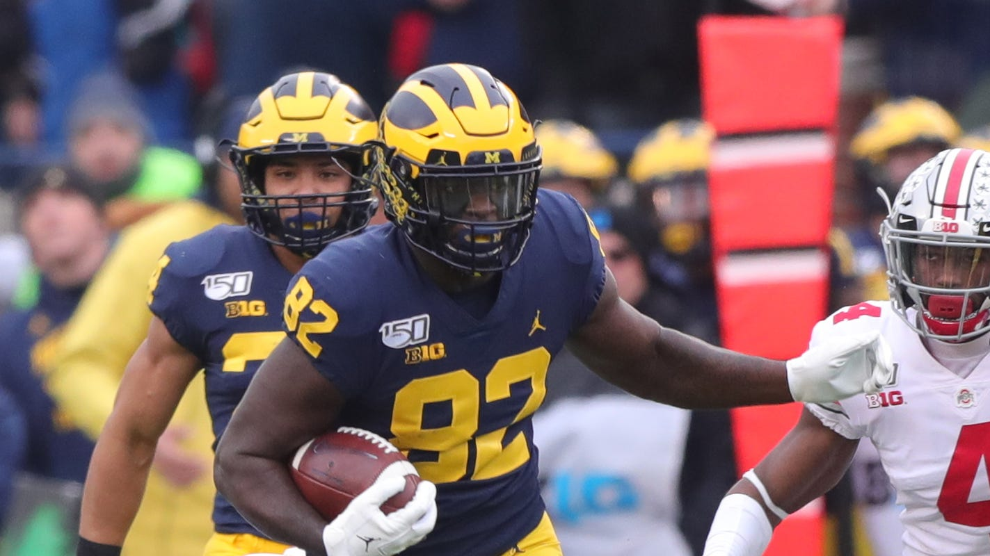 Michigan TE Nick Eubanks returning for fifth season in 2020