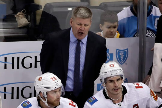 Bill Peters resigned as Calgary Flames head coach Friday.