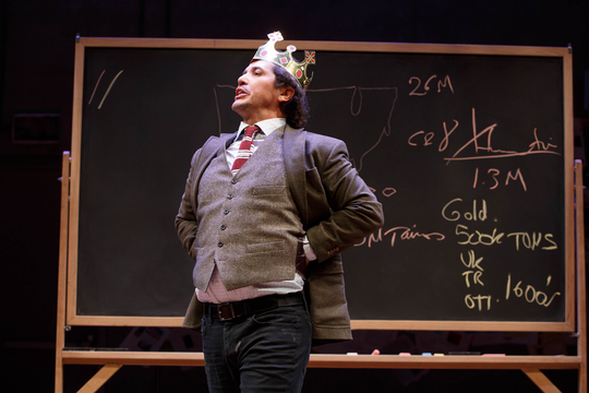 John Leguizamo performs in his one-man Broadway show, now on Netflix, to humorously educate his son about thousands of years of Latin history.