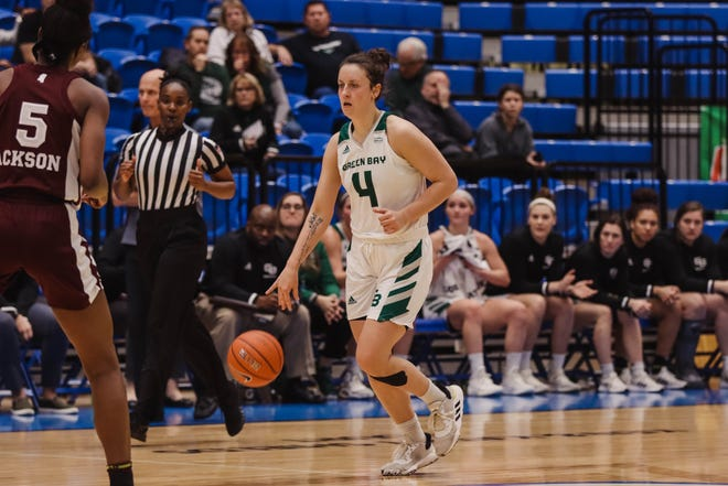 The UWGB women's basketball team lost to No. 10 Mississippi State on Friday.