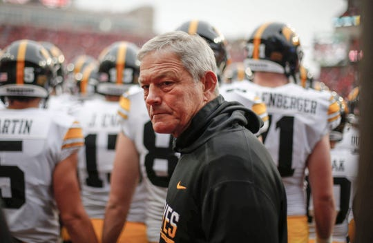 Kirk Ferentz, now 161-104 in 21 seasons at Iowa, is 46-19 over the past five seasons.