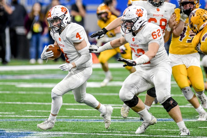 Brighton's path to another berth in the state championship football game could go through local rivals and perennial power Detroit Catholic Central.