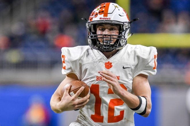 Brighton's march to the state Division 1 championship game has put quarterback Colby Newburg on the radar of college coaches.