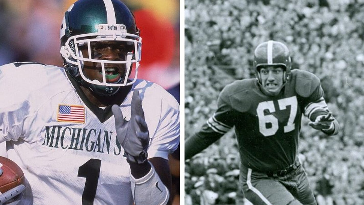 Msu To Honor Charles Rogers Henry Bullough With Helmet Stickers