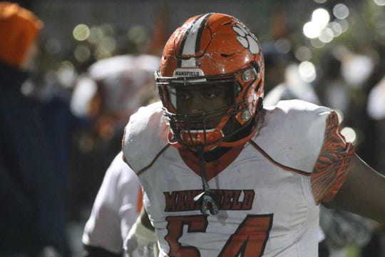Mansfield Senior's Anthony Hawkins is the heart and soul of the defensive line that features two Division I commits.