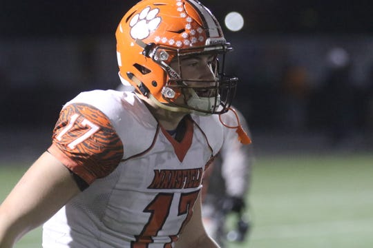 Mansfield Senior's Clay Caudill is one of the most talented defensive ends in the state.