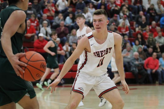 Shelby's Cody Lantz has the Whippets off to a 2-0 start and into the No. 1 spot in the Richland County Boys Basketball Power Poll.
