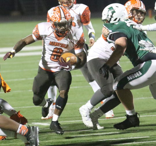 Mansfield Senior's Angelo Grose finished as the runner-up for Ohio Mr. Football and can lead the Tygers to a state title on Friday.