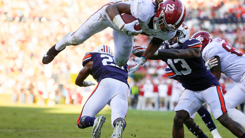 Alabama football vs. Auburn Tigers: video highlights, score