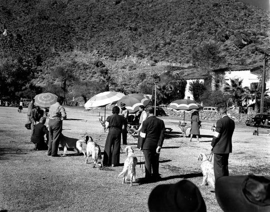 Dog Show at the Mashie Golf Course on December 7th, 1941.