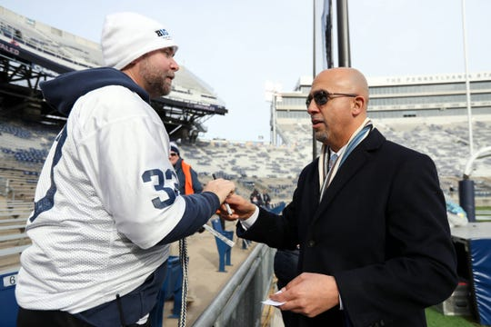 Penn State head coach James Franklin has a deal to lead the Nittany Lions through 2025.