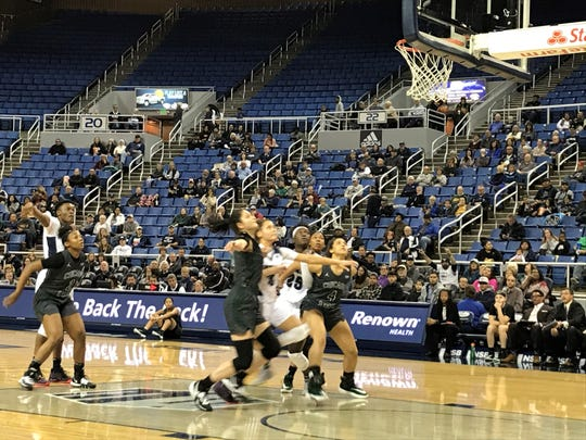 Nevada beat Chicago State, 80-60 on Friday in the Nugget Classic. Nevada plays at 2 p.m. Sunday at Lawlor.