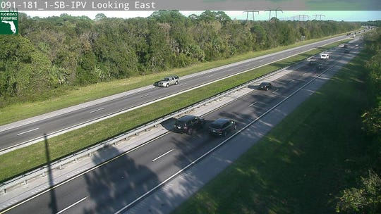 All crashes were cleared from the northbound lanes of the Florida Turnpike after a series of crashes slowed traffic south of State Road 60 on Saturday, Nov. 30, 2019.
