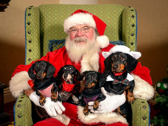 Santa Paws is an annual fundraiser for the Humane Society of Ventura County.