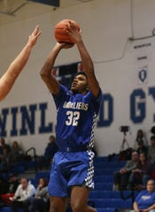 Chillicothe's Jayvon Maughmer puts up a shot against Maysville.