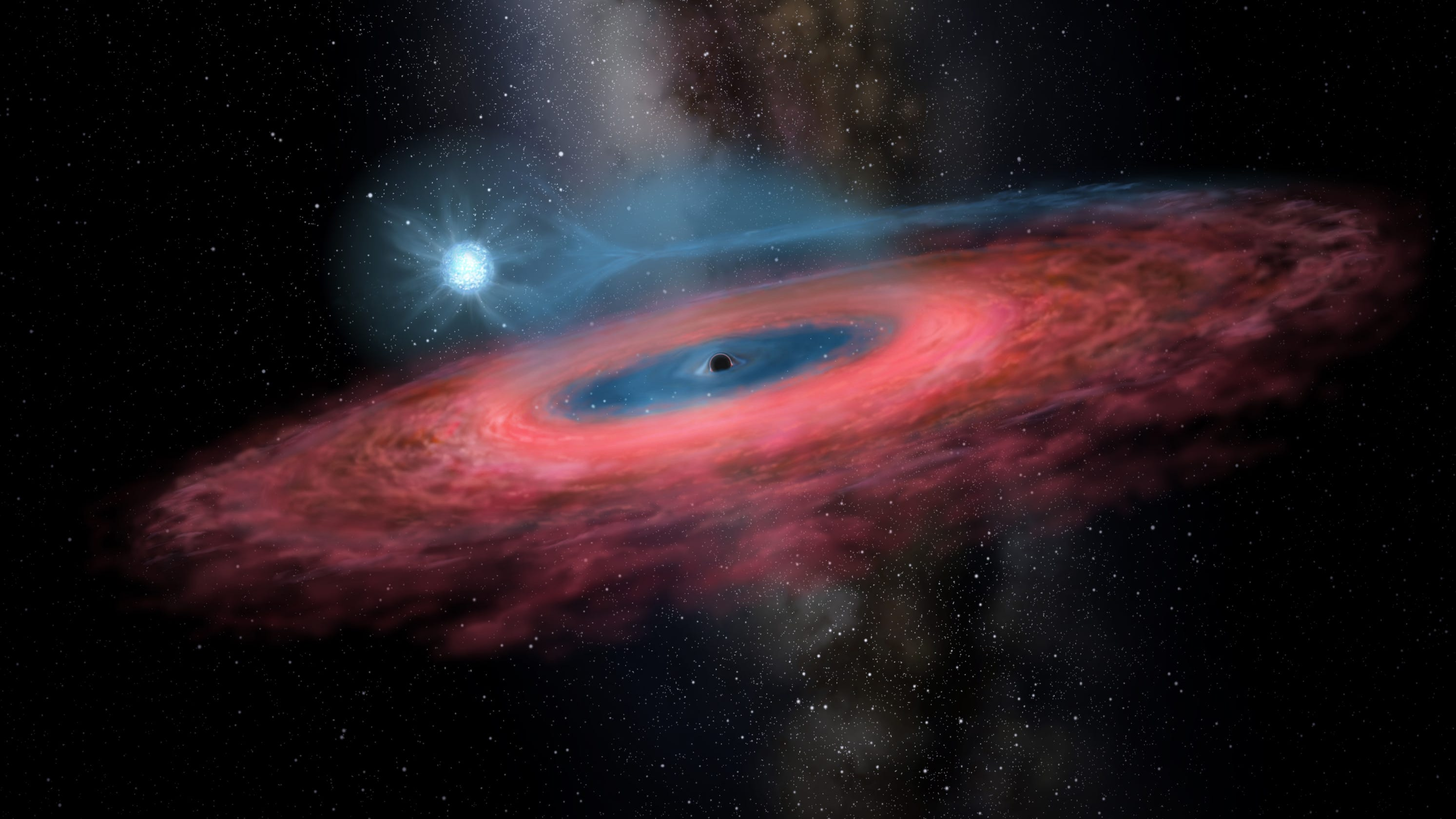 'Monster' black hole found. Scientists didn't think stellar black holes could be so big