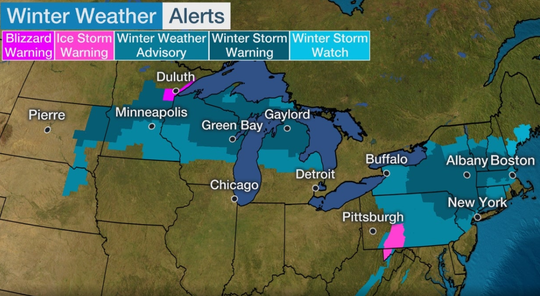 The Weather Channel has named a low pressure system traveling through the Northeast  Winter Storm Ezekiel.