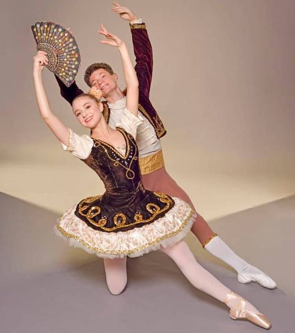 "Ayla Nye and Brennan Rood are two of the featured dancers in Peninsula Dance Theatre's 46th annual production of ""The Nutcracker"" Dec. 6-8."