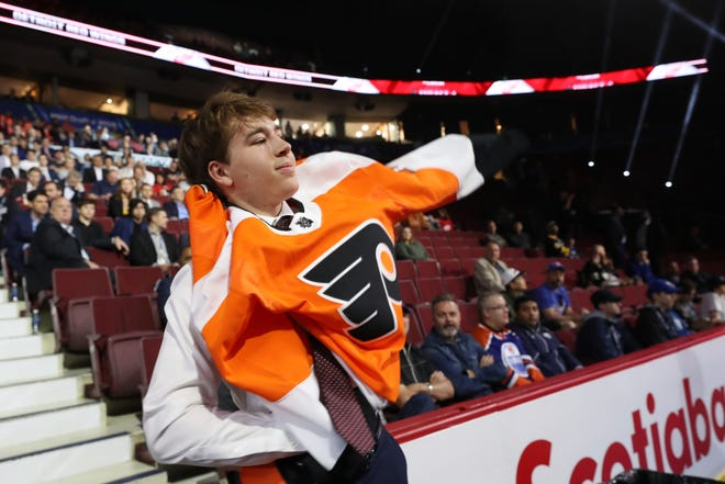 The Flyers passed by Cole Caufield in the 2019 draft and later picked Bobby Brink, a similarly small goal scorer.