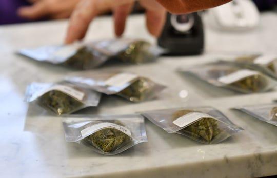 Recreational marijuana being sold at Arbors Wellness.