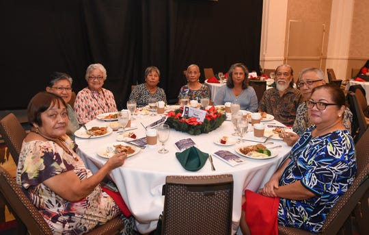 "War survivors are honored with a Mañenggon Memorial Foundation ""Christmases Not Forgotten"" brunch at Sheraton Laguna Guam Resort in Tamuning, Dec. 1, 2019."