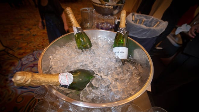 Many businesses in St. Clair County are ringing in the new year with events and champagne toast.