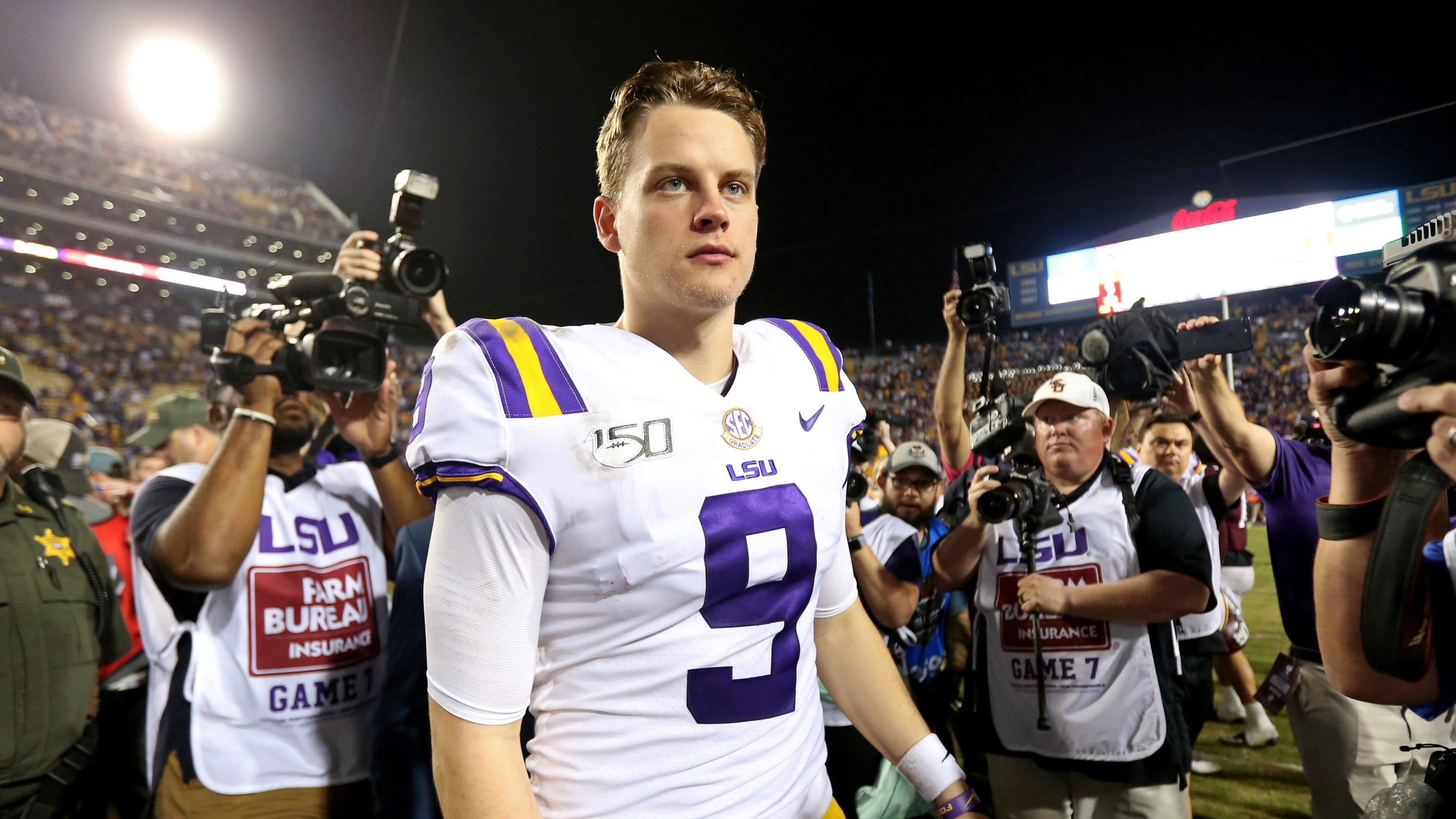 ESPN College Gameday: Joe Burrow talks about being a ...