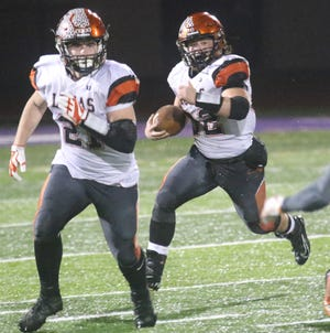 Lucas' Tommy Zirzow will lead the Cubs into battle this weekend in the Division VII state championship.