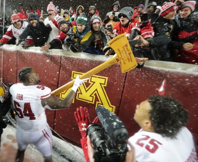 Wisconsin reclaimed Paul Bunyan's Axe last season in Minnesota.