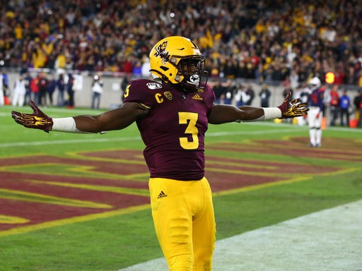 Home Run Projections 2020.Eno Benjamin 2020 Nfl Draft Projections For Arizona State
