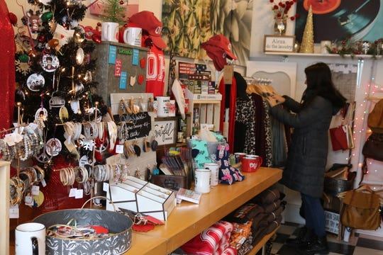 "LakeLynn Design, a local boutique at 129 Madison St., celebrated ""Small Business Saturday"" this past weekend."