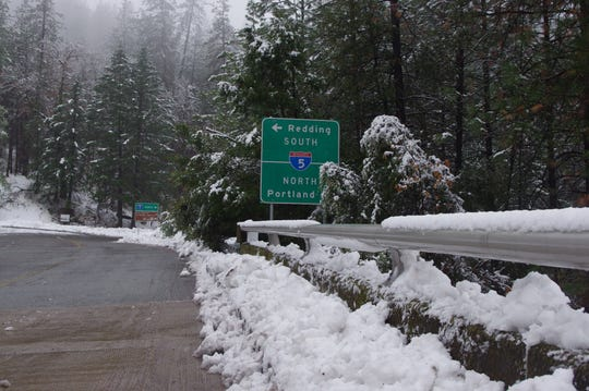 Motorists traveling Interstate 5 contended with road closures part of the day Sunday. More wet weather is predicted for Monday.
