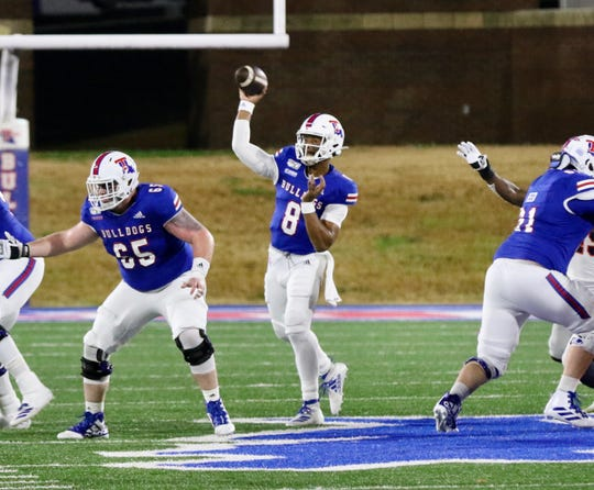 Louisiana Tech quarterback J'Mar Smith made the most of his last home start with the Bulldogs.