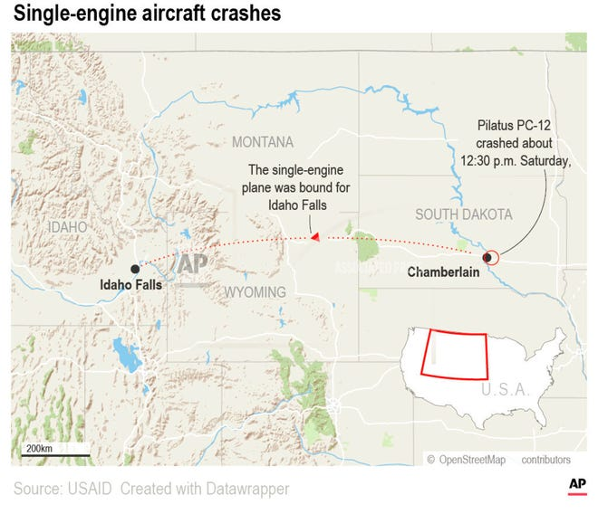 At least nine people are dead after a plane crashed shortly after takeoff Saturday.