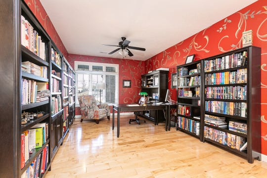 This area likely was designated as a formal dining room, but Don and Jackie took the best advantage of it by creating a library. The abundance of natural light makes it an ideal reading space.