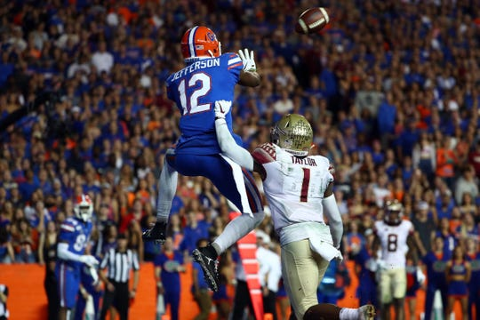 Florida wide receiver Van Jefferson