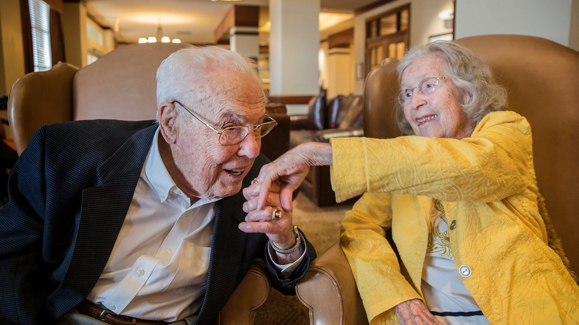 World's 'oldest married couple' have been together nearly 80 years