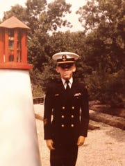 Daniel Jones as a young cadet at Admiral Farragut Academy in Pine Beach. Jones is alleging in a lawsuit that he suffered sexual abuse there as a child.